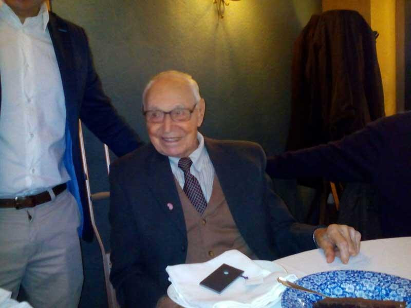 Josep Guinart, el pasado jueves en la Fonda Europa