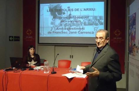 El doctor Jané habla sobre la historia del baloncesto en Granollers