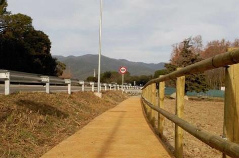 Nuevo camino peatonal en Cardedeu