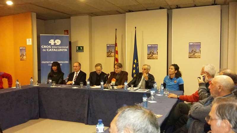 El Cross internacional de Granollers fue presentado el martes