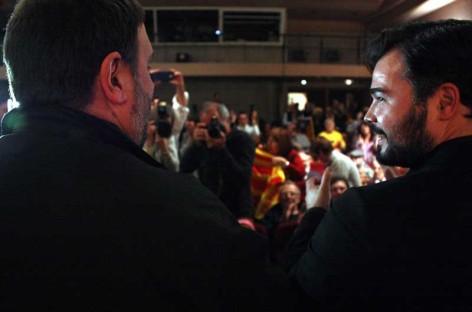 Junqueras y Rufián reunen 300 personas en Granollers