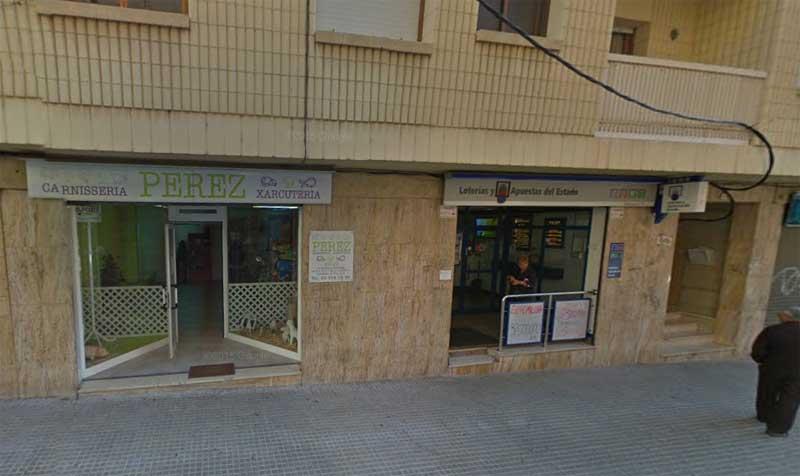 La administración número 2 de Montornès está en la calle Estrella