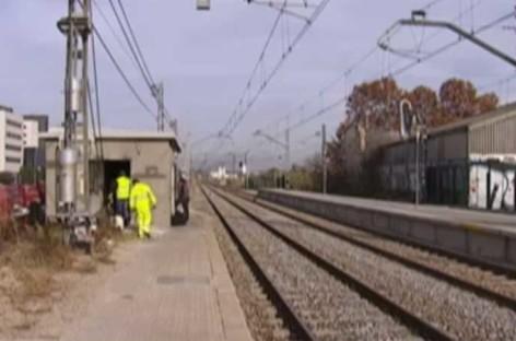 Renfe prevé que hoy sigan los problemas en Cercanías provocados por el robo de cobre de Mollet