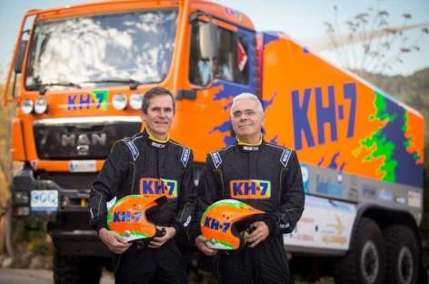 El KH-7 Epsilon Team hace historia con una doble victoria en el Dakar 2016
