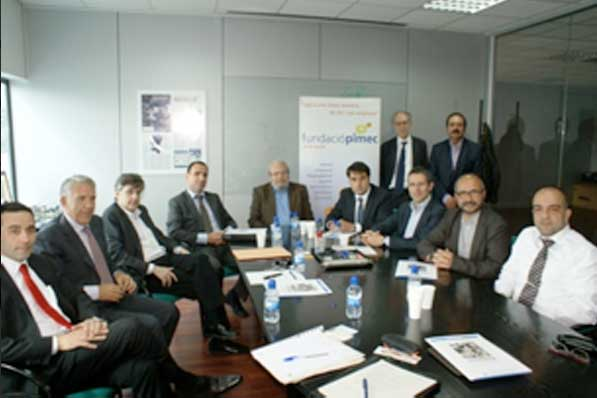 Junta directiva de la Associació Coll de la Manya. Foto: Pimec