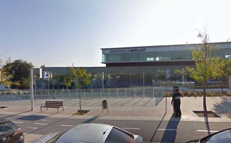 La intervención tuvo lugar en el Hospital de Mollet