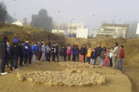 Ensenyament acepta modificar el proyecto de la Escola Quatre Vents para poder preservar el poblado neolítico