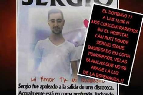 El joven de Montcada agredido por nueve jóvenes de Granollers sigue en coma dos meses después
