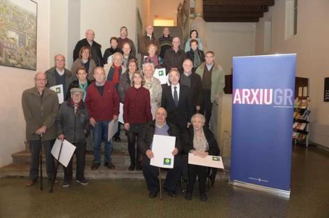 Granollers organitza un acte d'Agraïment a les aportacions a l'Arxiu Municipal