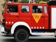 Cuatro intoxicados en Granollers al incendiarse una lavadora