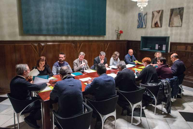 El Govern local dio cuenta del plan de choque 2015 ante el Consell Econòmic i Social. Foto: Toni Torillas
