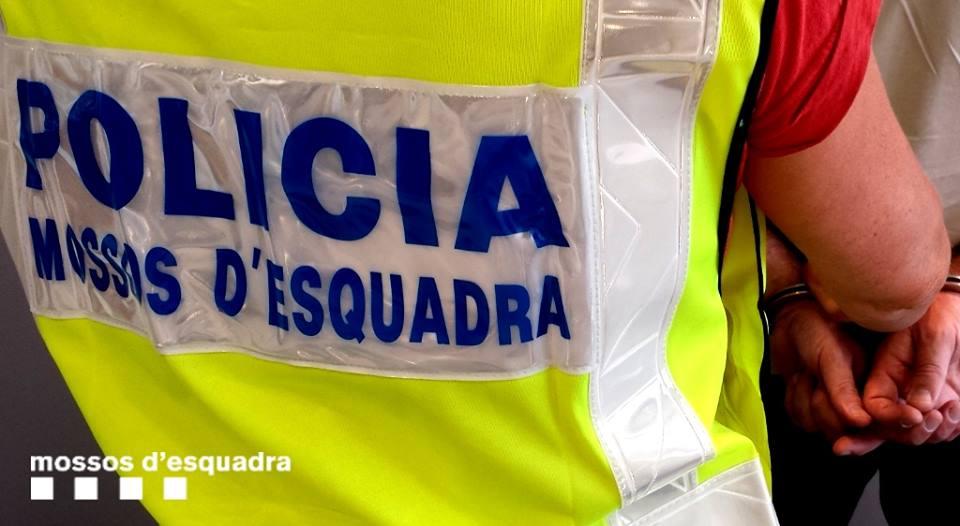 La mujer cometió delitos en toda Catalunya