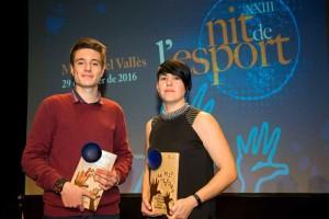 Antonio López y Sònia Bocanegra, mejores deportistas masculino y femenino