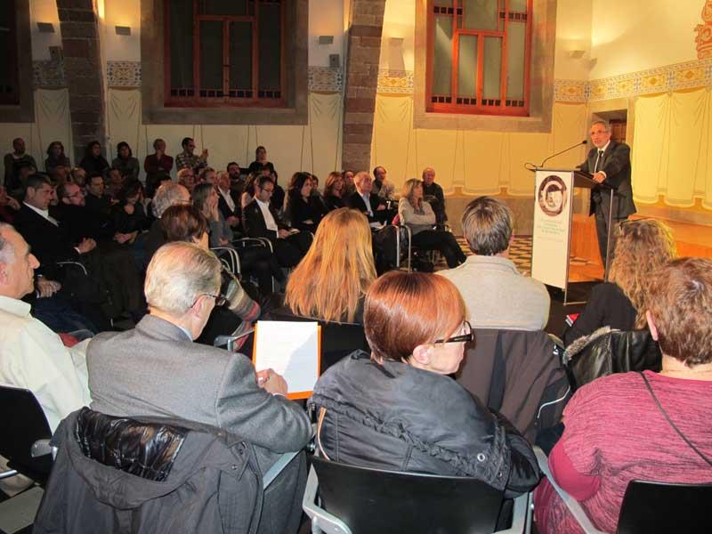 Josep Mayoral explicando las actuaciones que se llevarán a cabo hasta el 2019