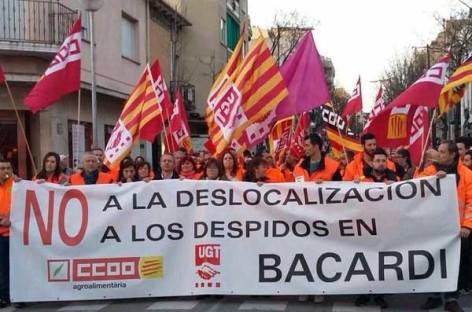 Dirección y trabajadores de Bacardí a punto de llegar a un acuerdo sobre el cierre de la planta de Mollet