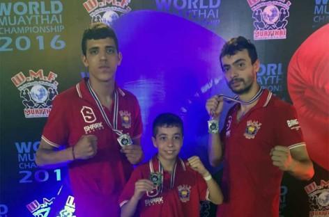 Un joven de 12 años de Canovelles se proclama Campeón del Mundo de Boxeo Tailandés por cuarta vez