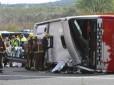 El conductor de la Garriga que conducía el autocar donde murieron 13 estudiantes se durmió al volante