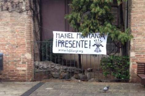 Condena del PSC y la CUP a la acción de la Falange en la plaza de la Porxada