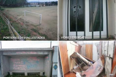 Sant Pere de Vilamajor denuncia que los actos vandálicos se multiplican durante las vacaciones escolares