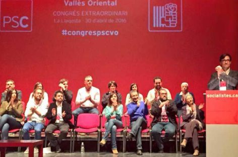 El exalcalde de la Roca, Salvador Illa, nuevo primer secretario del PSC del Vallès Oriental