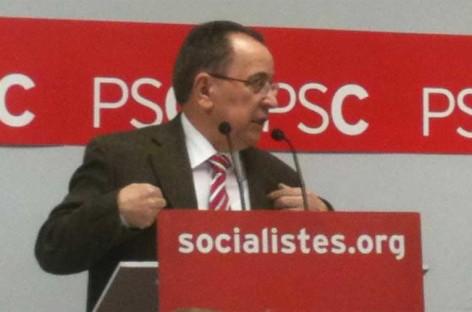 Román Ruiz deja la dirección del PSC del Vallès Oriental después de 12 años al frente