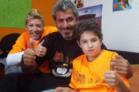 Fallece Asier, el niño por el que el Mosso de Granollers recorre 3.000 quilómetros