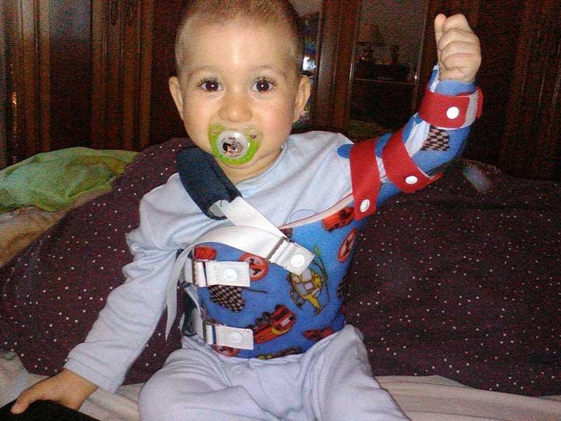 Jordi, de 11 meses, en una imagen de la página de Facebook