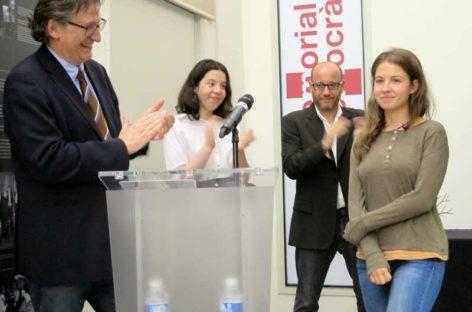 Una noia de 17 anys de Santa Eulàlia guanya el Premi de Recerca de Memòria Democràtica