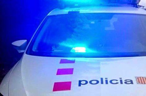 Detenidos tres delincuentes en Sant Celoni tras una persecución de 15 quilómetros