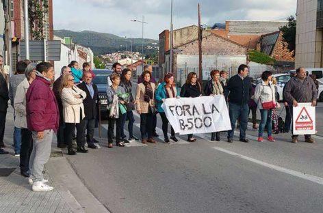 Un atropello mortal de una anciana reactiva las protestas por la B-500 en Sant Fost