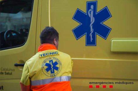 Un vecino de Santa Eulàlia herido tras caerse de un tejado en una empresa de Les Franqueses