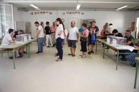 Un error en el recuento dejó sin 117 votos a En Comú Podem en Parets