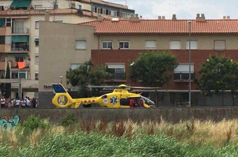 Un motorista de la Garriga gravemente herido tras chocar con un coche en Canovelles