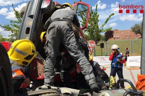 Los bomberos del parque de Granollers destacan en el Encuentro Nacional de Rescate