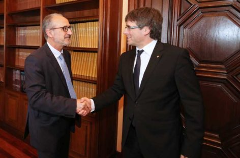 El alcalde de Mollet, Josep Monràs, reclama al President Puigdemont los 5 millones que les debe la Generalitat