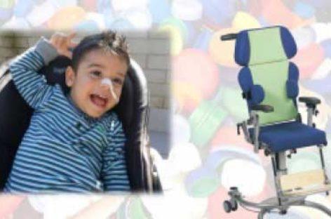 La Escola Quatre Vents de Canovelles recoge tapones para poder comprar una silla a un niño de Les Franqueses