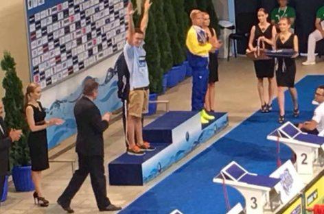 El nadador de Granollers Albert Escrits nuevo subcampeón de Europa en los 1.500 libres