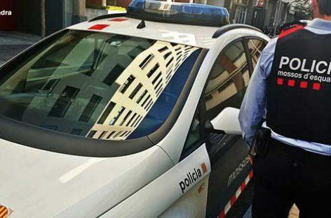 Detenida una vecina de Sant Celoni tras volcar con el vehículo robado que conducía borracha