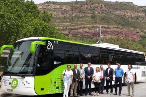 Los municipios de la Vall del Tenes mejoran su conexión en autobús con Barcelona