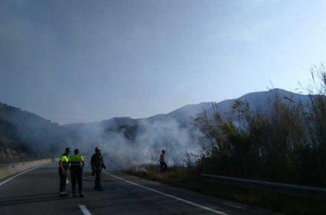 El Vallès Oriental ha registrado este año 22 incendios forestales de importancia