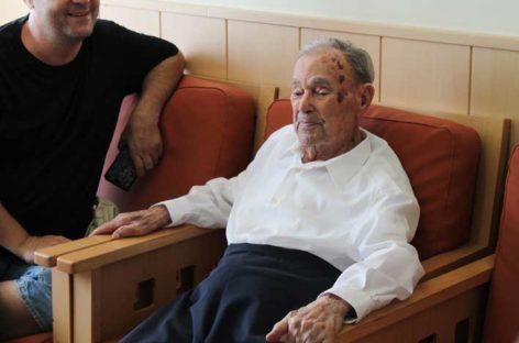 Un vecino de Les Franqueses explica el secreto de su longevidad al alcanzar los 107 años