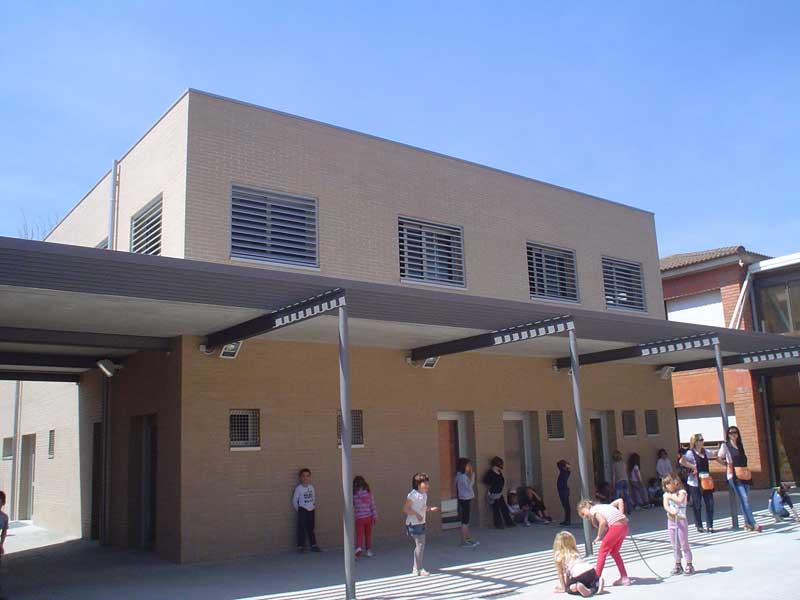 La escuela de Sant Antoni fue reformada y ampliada