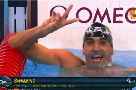 Miguel Luque, plata en los 50 metros braza en los Juegos Paralímpicos de Río de Janeiro