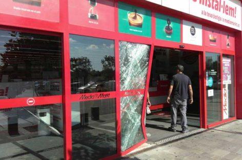 Un intento de robo al Mediamarkt culmina en Parets un agosto de asaltos a establecimientos comerciales