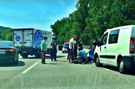 Video de una espectacular persecución de los Mossos en Sant Celoni que acabó con dos detenidos