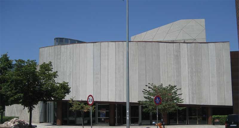 Fachada del Teatro Auditorio de Granollers