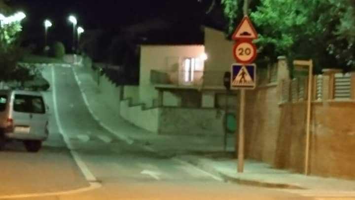 Imagen de la vivienda ocupada publicada por los vecinos en el grupo de Facebook