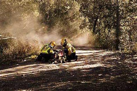 Un ciclista herido grave al caerse en una pista forestal en El Figaró