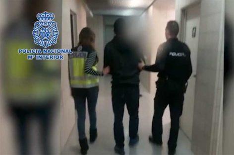 La Policía Nacional detiene en Santa Eulàlia de Ronçana un peligroso paramilitar colombiano