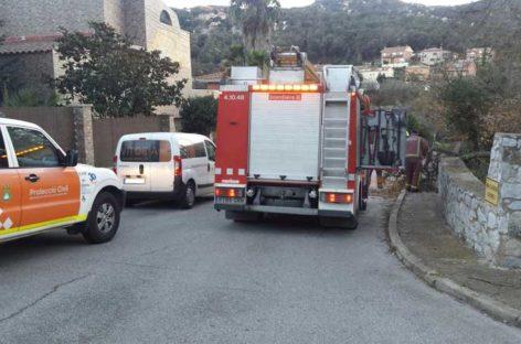 Los bomberos realizan salidas por el viento en Mollet, Bigues y Sant Fost